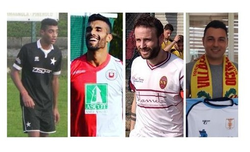 Kerroumi del Rivoli (4 gol), Rizq del Chisola, Novero della Nolese e Barison del Villafranca