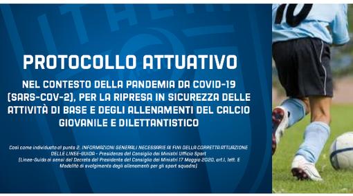 """CALCIO E PROTOCOLLI DI SICUREZZA - """"Individuare medico, no contatti fisici, due metri tra giocatori..."""""""