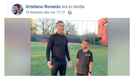 """(VIDEO) CR7 AL CIT TURIN - """"Vieni ragazzo, facciamo due palleggi... ?"""""""