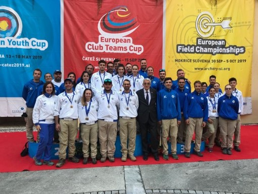 Campionati Europei Campagna, piemontesi sul podio in Slovenia