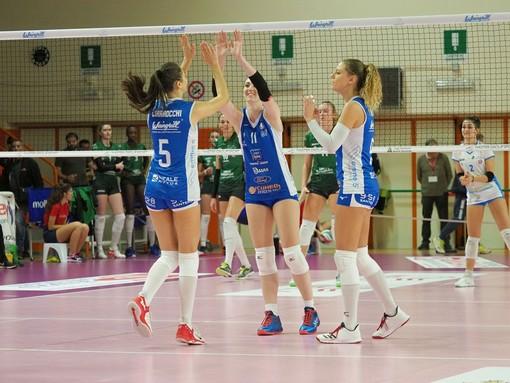 Volley A2 F: Eurospin Pinerolo passeggia contro Sassuolo, tutto in poco più di un'ora