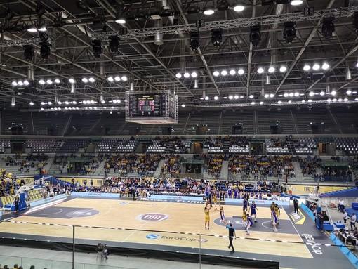 Basket, la Fiat Torino a ranghi dimezzati cade di nuovo in Eurocup