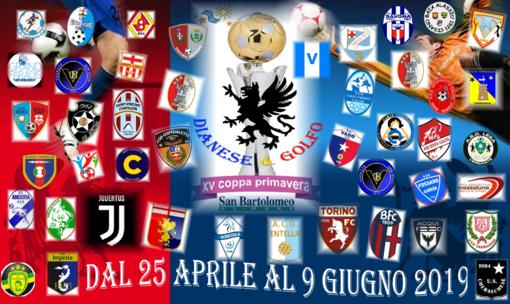 Countdown per la VX Coppa Primavera di calcio