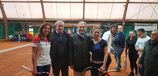 Con Eyes On l'entusiasmo al Tennis Club Rivoli è andato alle stelle
