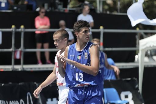 Nicolò Ianuale convocato in Nazionale per l'Europeo 3×3 U18 di Debrecen