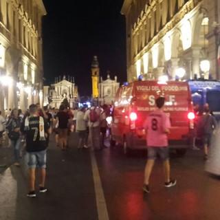Piazza San Carlo, chiedono l'assoluzione i difensori della 'banda dello spray'