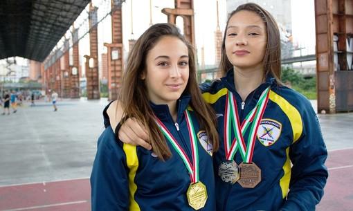 Virginia Maestro e Lucia Sanese