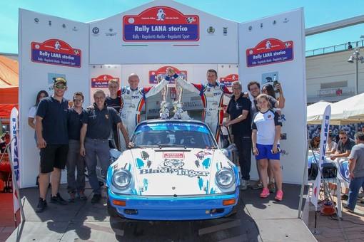 A Da Zanche e De Luis il 9° Rally Lana Storico