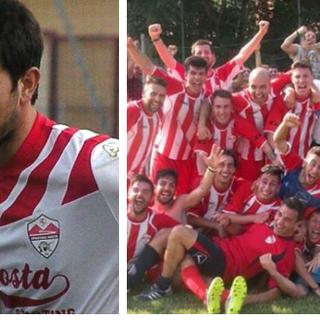 Marco Molino e il ricordo del Rosta in Promozione (7 giugno 2015)