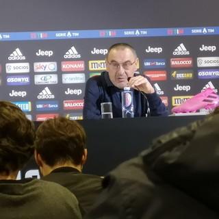 """Juve, c'è il Genoa per continuare la corsa scudetto. Sarri: """"A Marassi è difficile per tutti"""""""