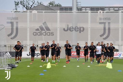 "foto tratta dalla pagina Facebook ""Juventus"""