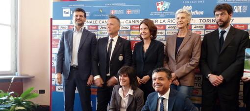 """Andrea Agnelli e i piloti della Ferrari giocheranno la """"Partita del Cuore"""" (video)"""