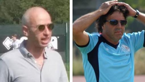 Stefano Raimondi e, a destra, Giancarlo Rosso