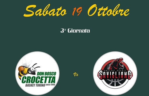 Crocetta-Amatori Basket Savigliano in diretta video in streaming