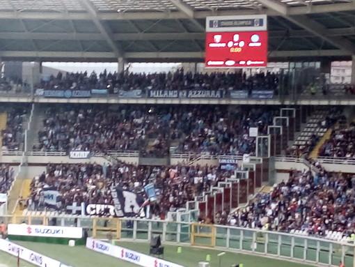 Tensioni durante Torino-Napoli, 15 daspo per i tifosi partenopei
