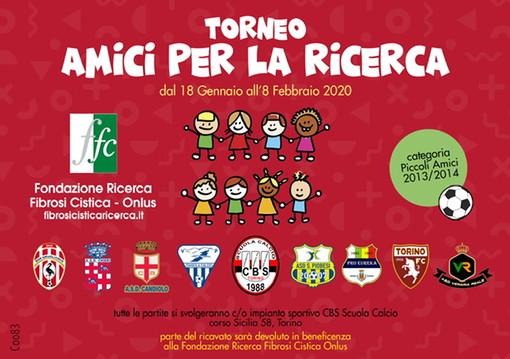 """""""Amici per la ricerca"""", a Torino un torneo per dare un calcio alla fibrosi cistica"""